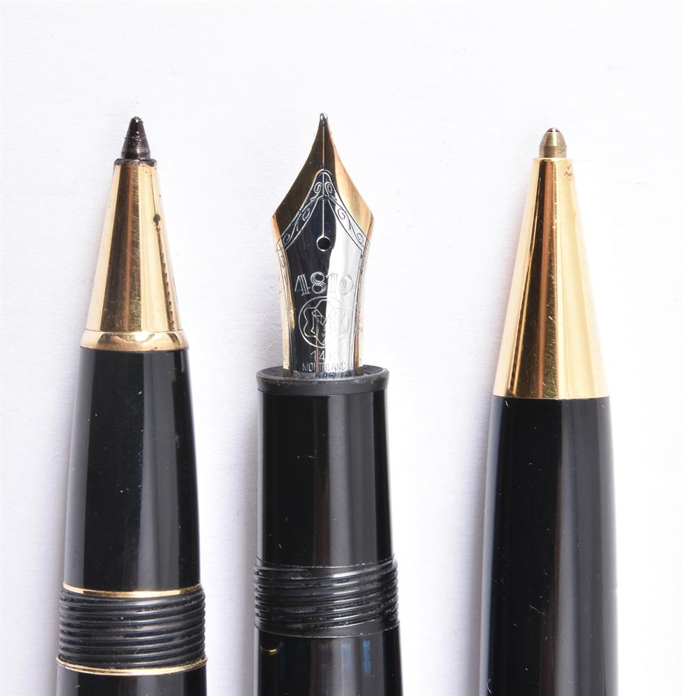 Montblanc, Meisterstuck 146, a black fountain pen - Image 2 of 2