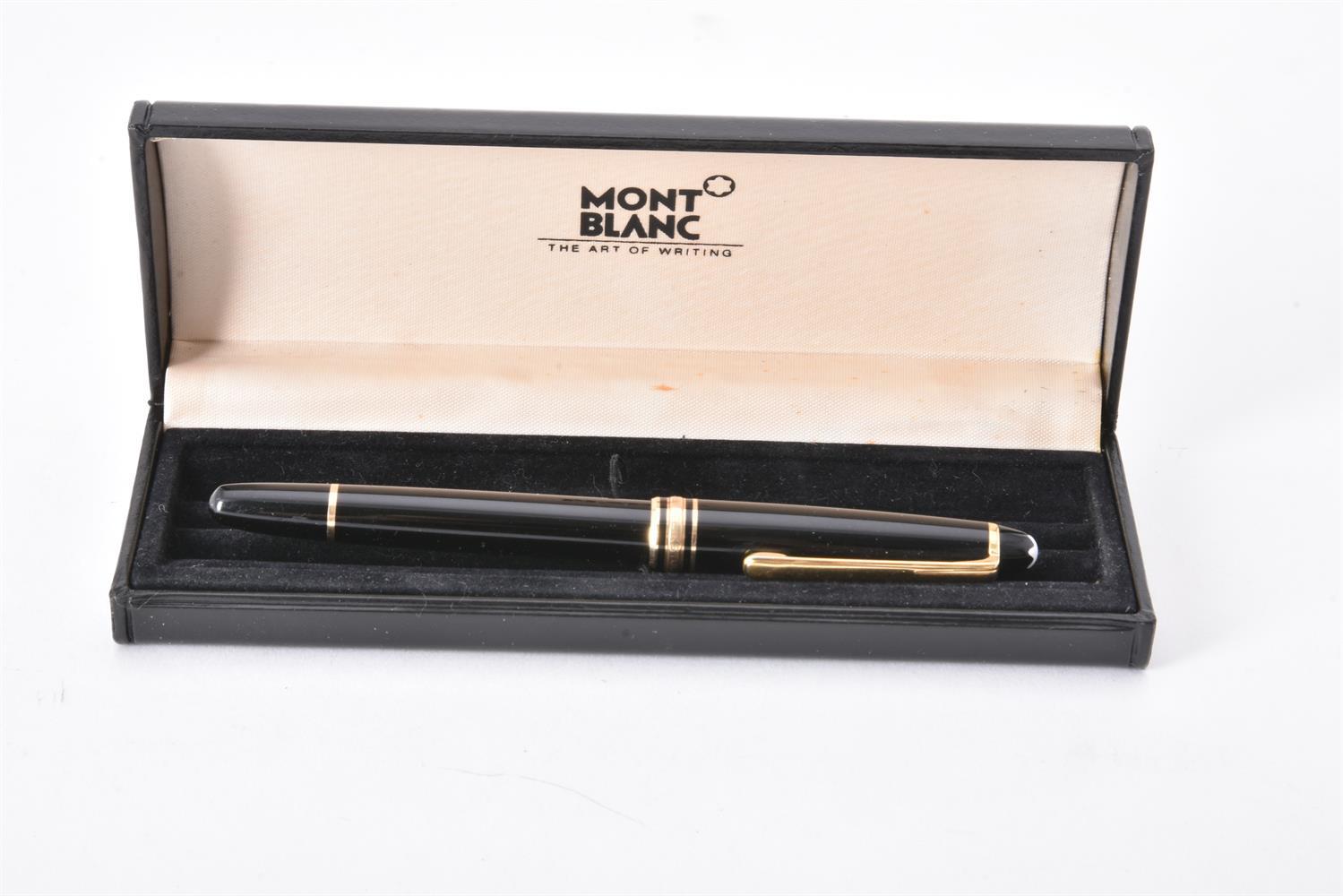 Montblanc, Meisterstuck, a black fountain pen