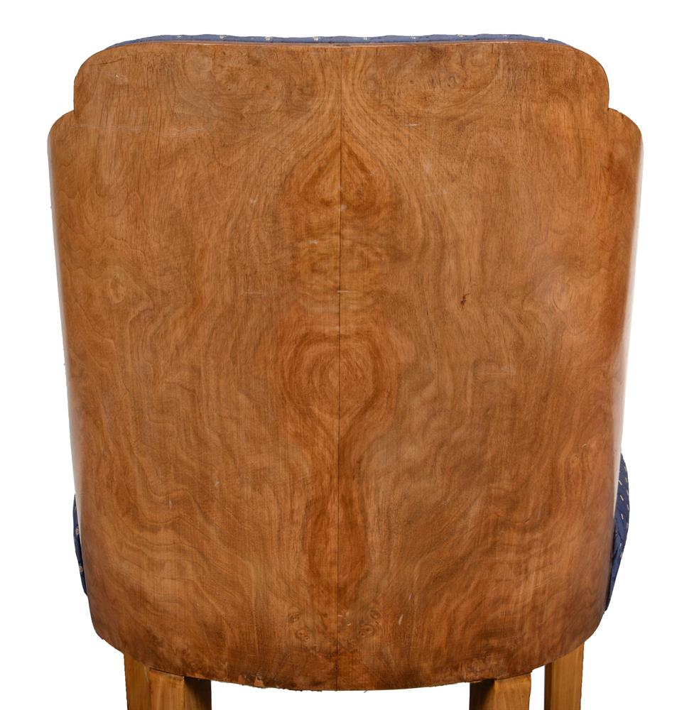 Epstein: a Cloud series walnut suite of seat furniture - Image 5 of 6