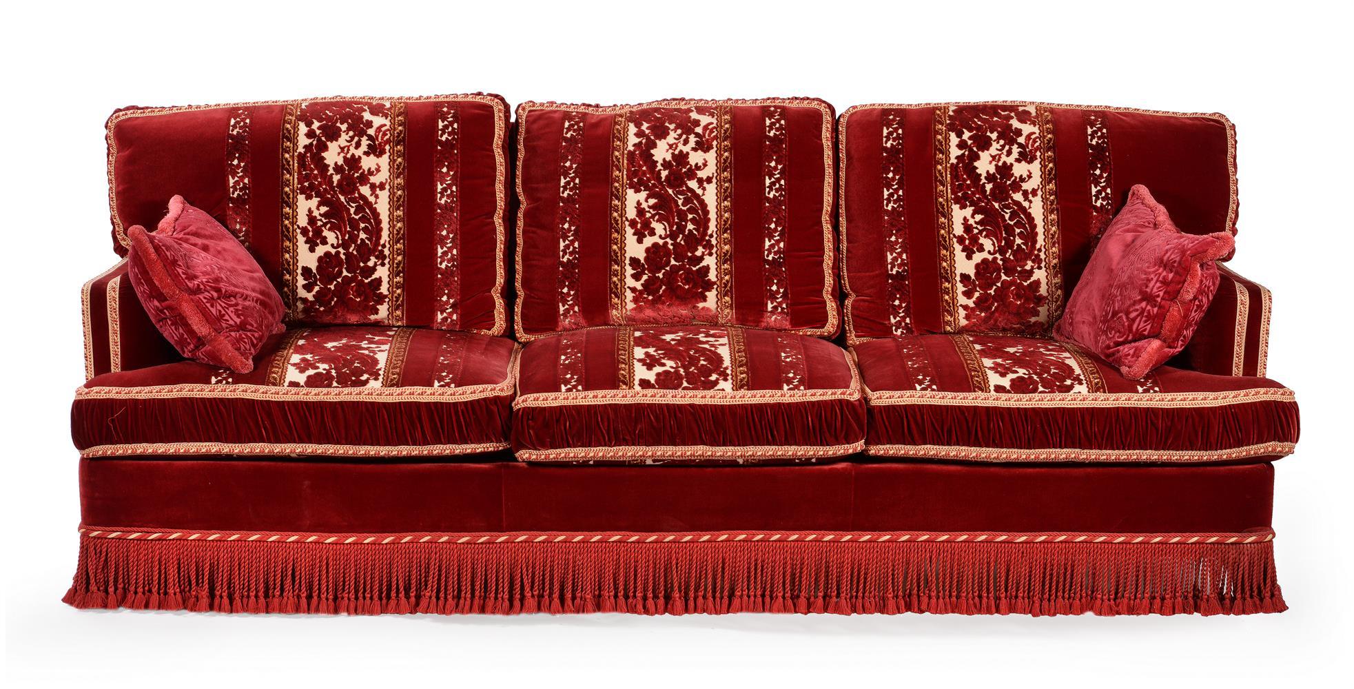 A three seat sofa - Image 2 of 2