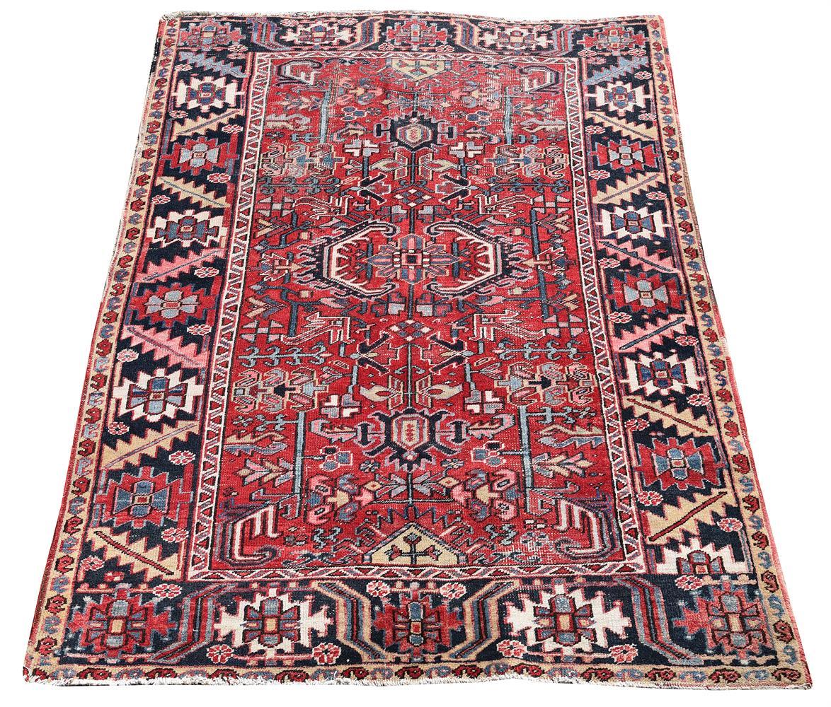 An Heriz rug