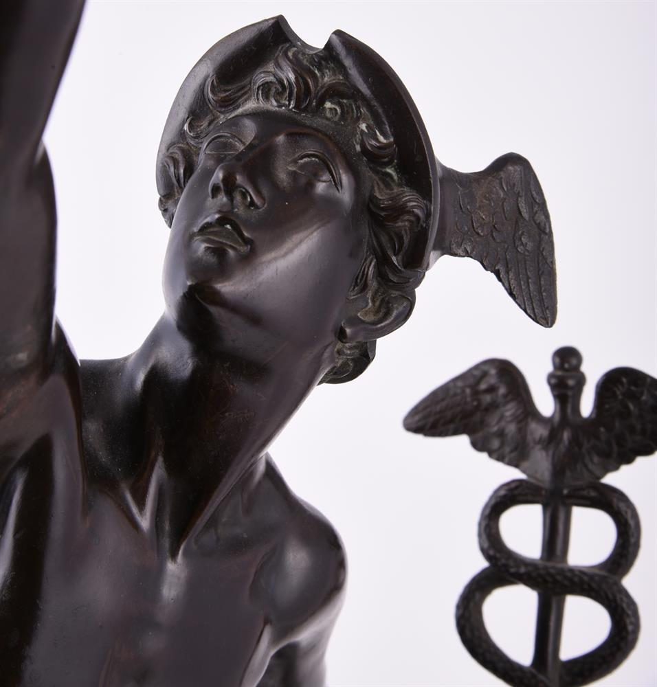 A bronze patinated model of Mercury - Image 4 of 6