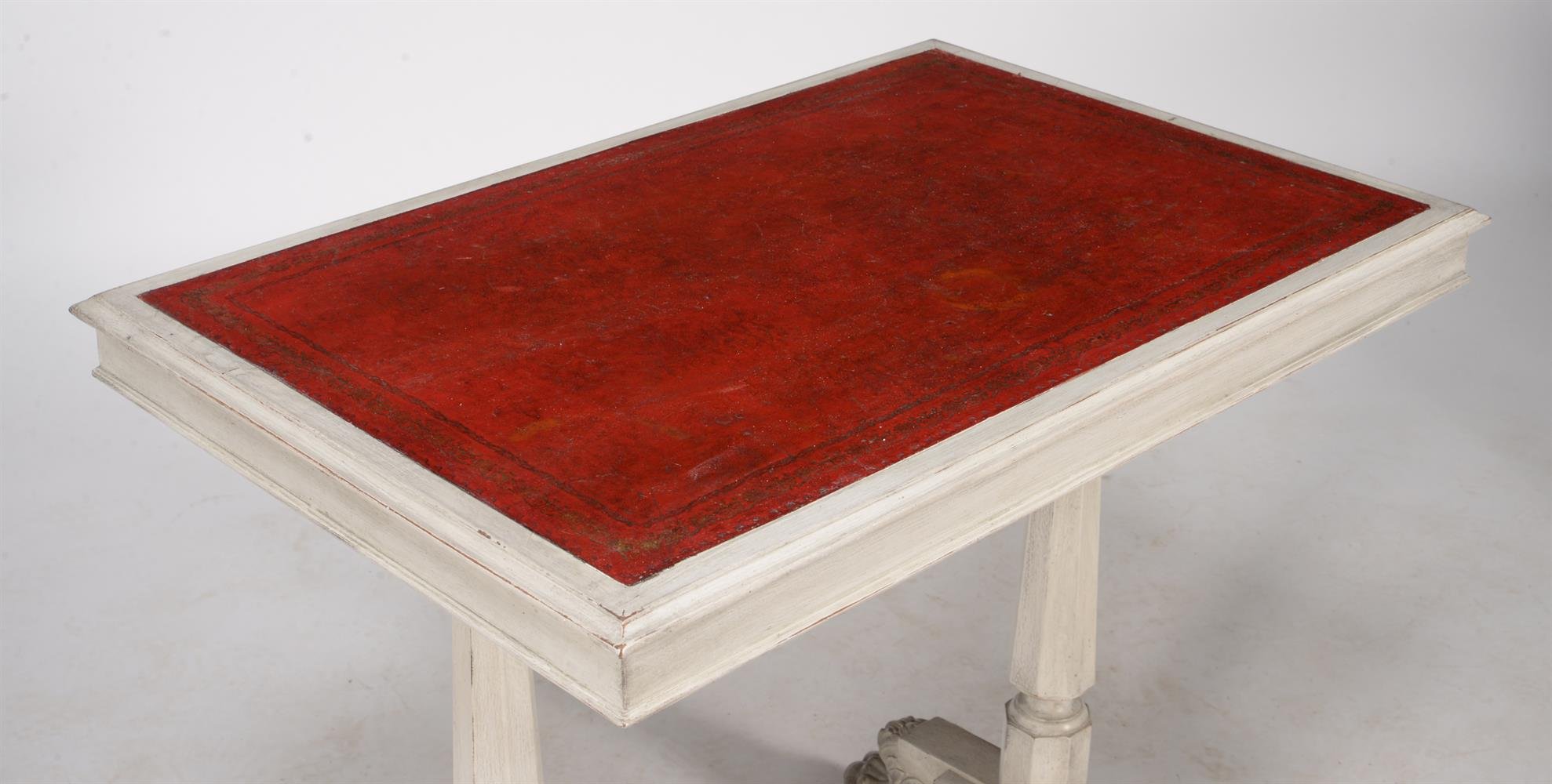 A painted writing or side table - Image 2 of 3