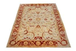 A carpet, in Persian style
