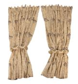 A quantity of curtains