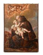 Manner of Bartolomé Esteban Murillo, Saint Francis holding the Christ Child