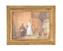 Y Louis-Marc-Antoine Bilcoq (French 1755 - 1838), La Bonne Adventure