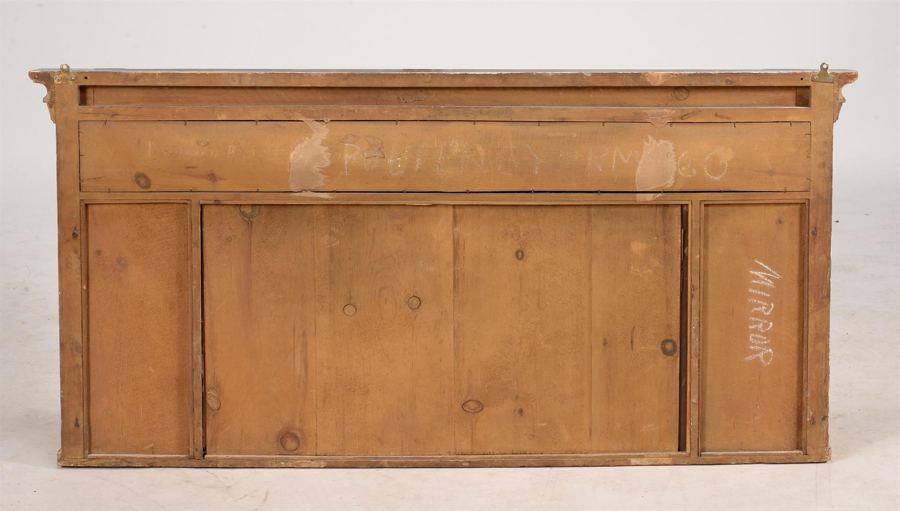 A Victorian giltwood overmantel wall mirror - Image 3 of 3