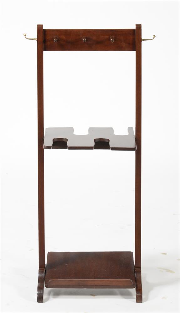 A mahogany hall stand - Image 2 of 2