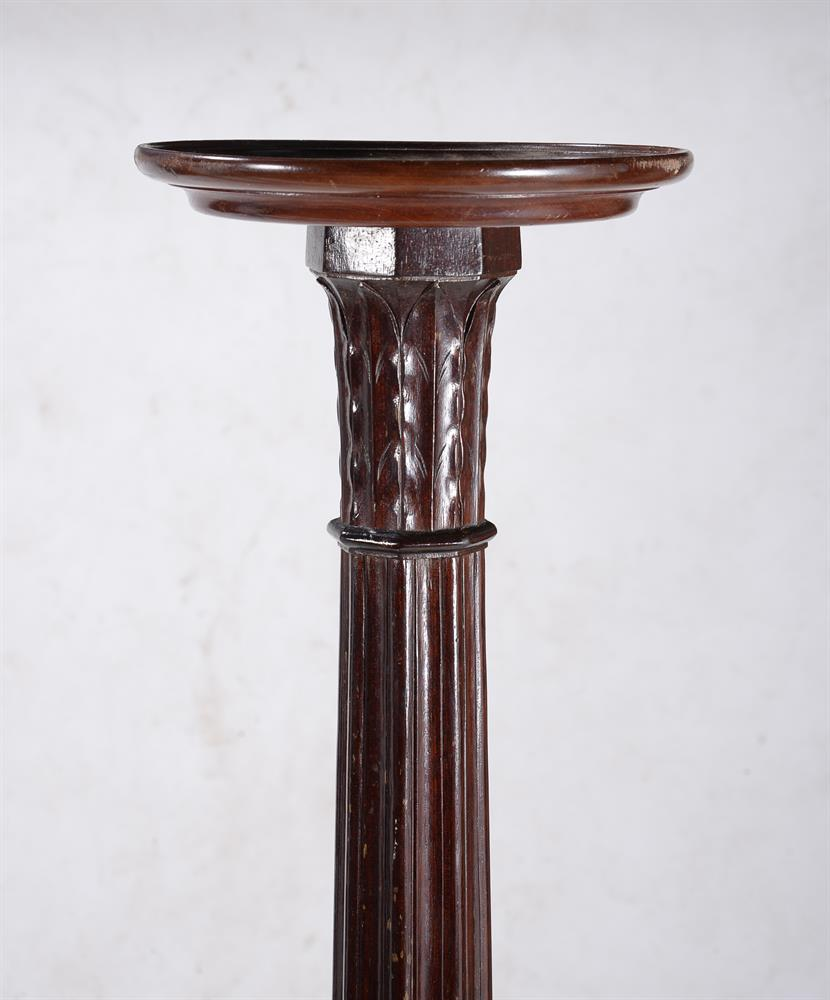 A pair of mahogany torchere stands in George III style - Image 2 of 3