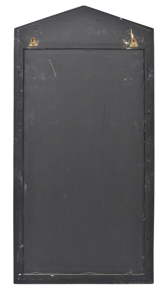An ebonised and parcel gilt pier mirror in Empire style - Image 2 of 2