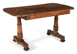 Y A William IV rosewood library table