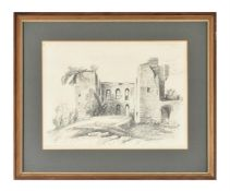 Frederick Nash (British 1782-1856), Caesar's Tower, Kenilworth Castle, Warwickshire
