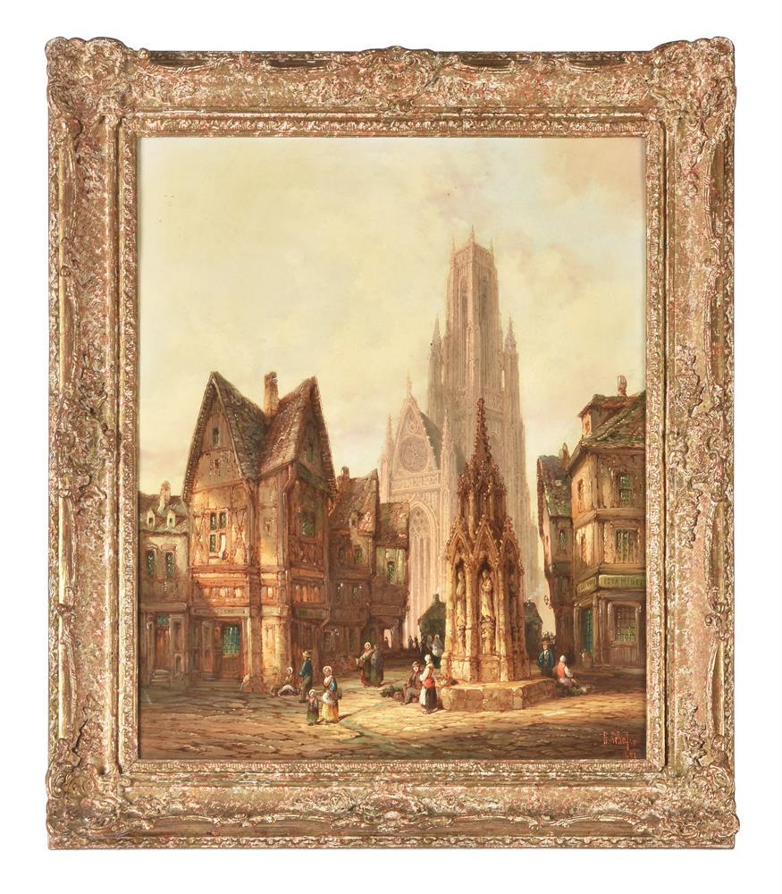 H. Schafer (19th century), Noyon, Normandy
