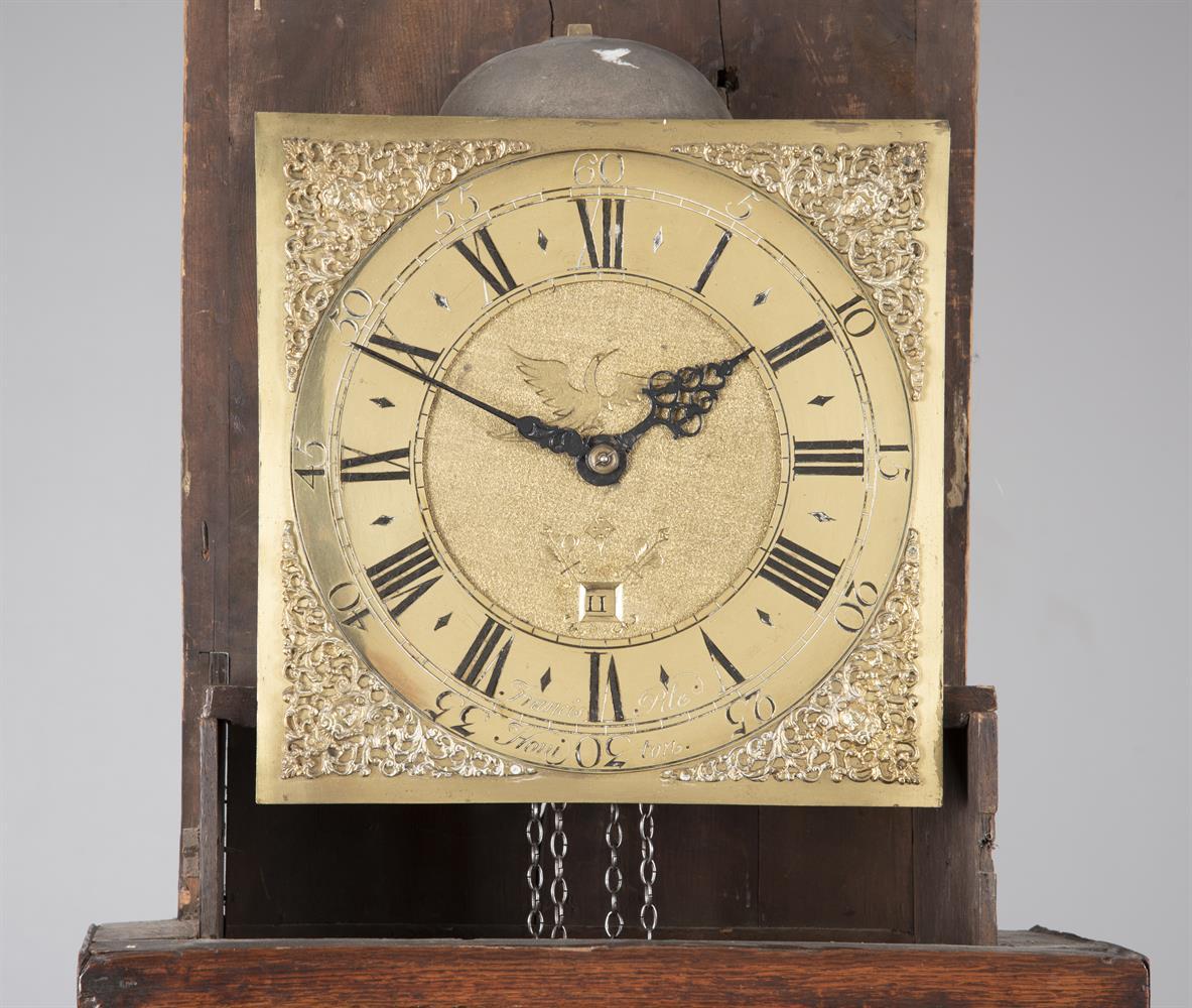 An oak and mahogany banded longcase clock - Image 2 of 2