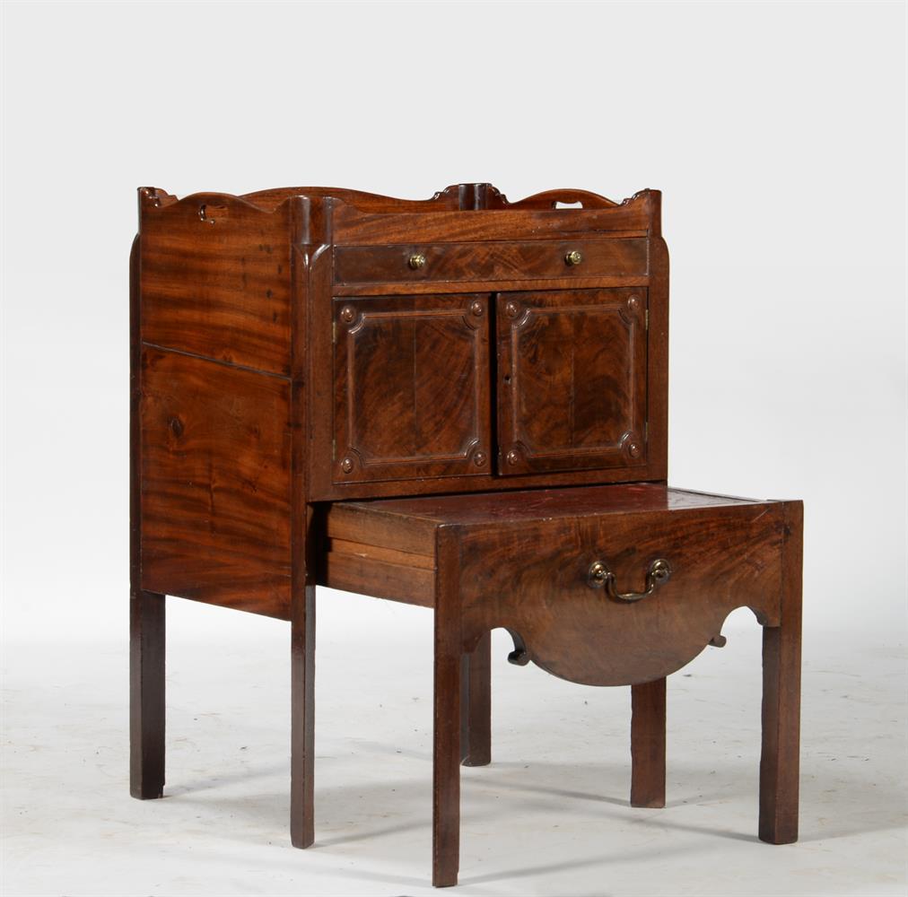 A George III mahogany night commode - Image 2 of 2