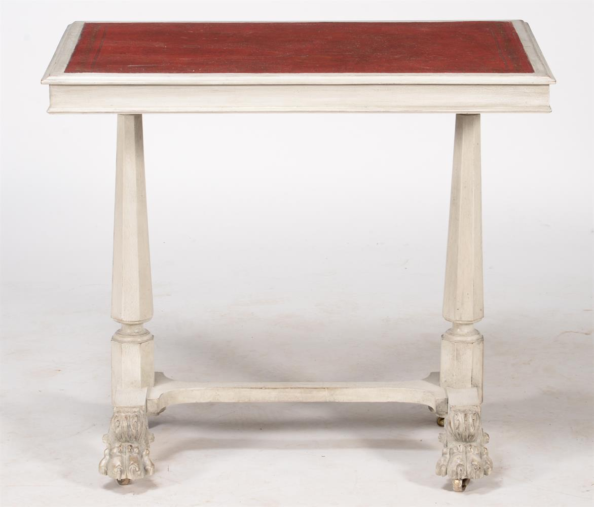A painted writing or side table - Image 3 of 3