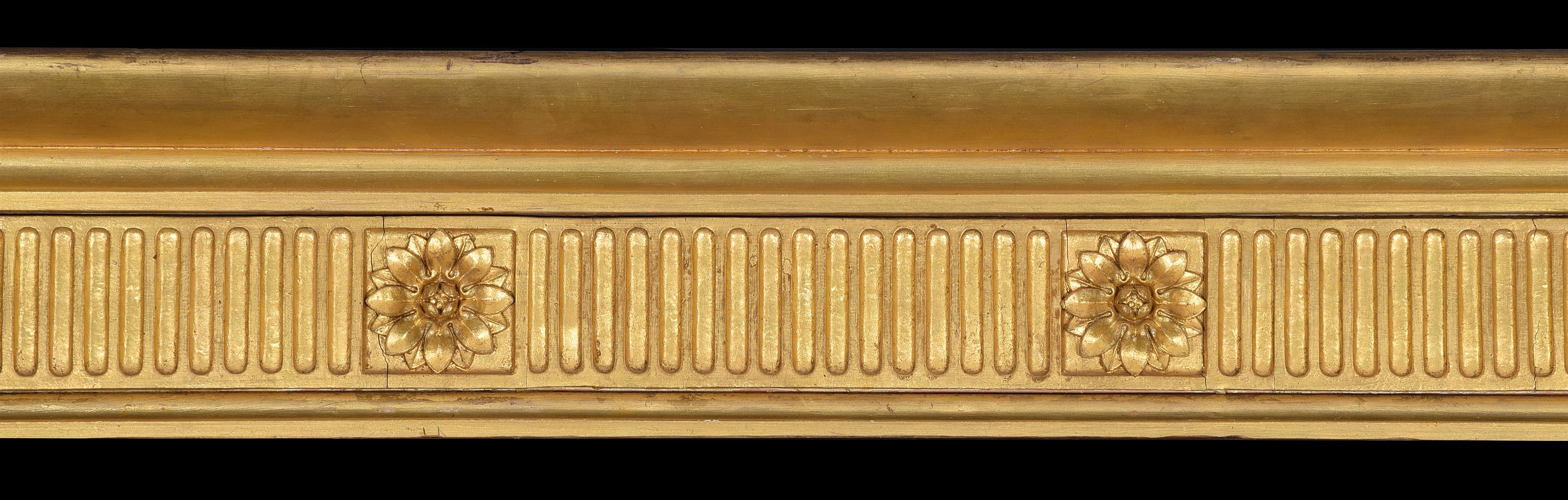 A set of three giltwood curtain pelmets, in George III style - Image 2 of 2