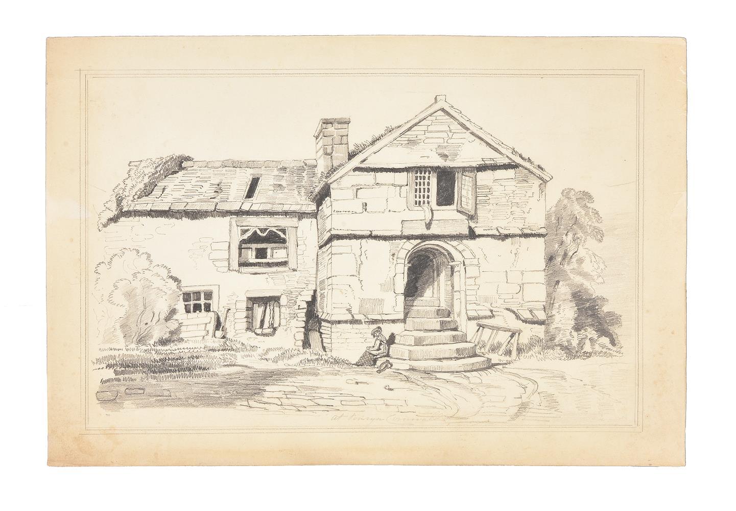 Frederick Nash (British 1782-1856), At Penryn, Cornwall - Image 2 of 3