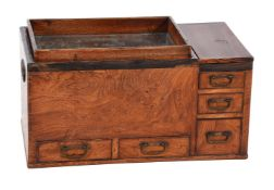 An elm 'Hibachi' table