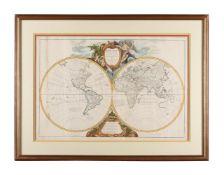 The world, Vaugondy, (Robert), Orbis Vetus