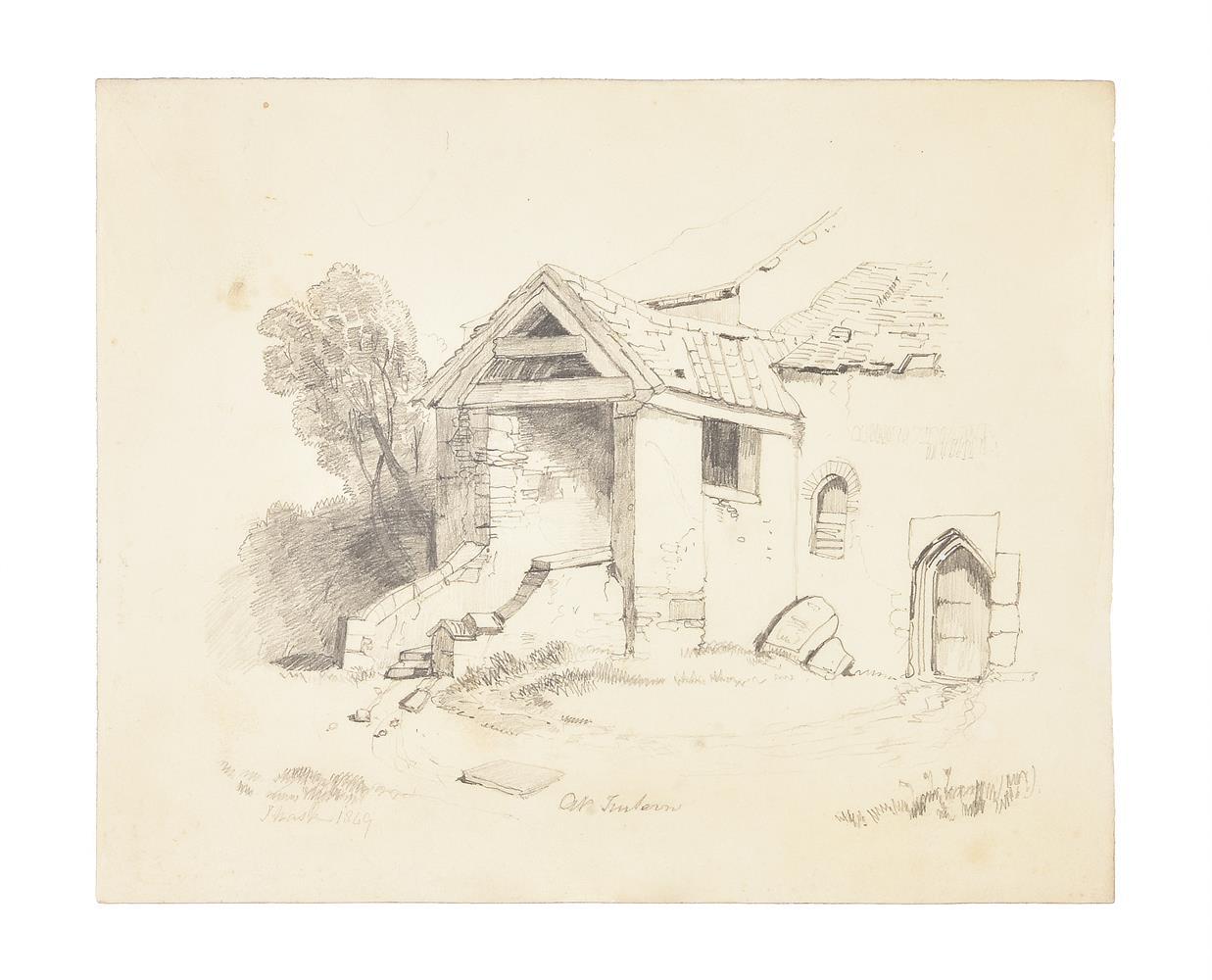 Frederick Nash (British 1782-1856), At Penryn, Cornwall - Image 3 of 3