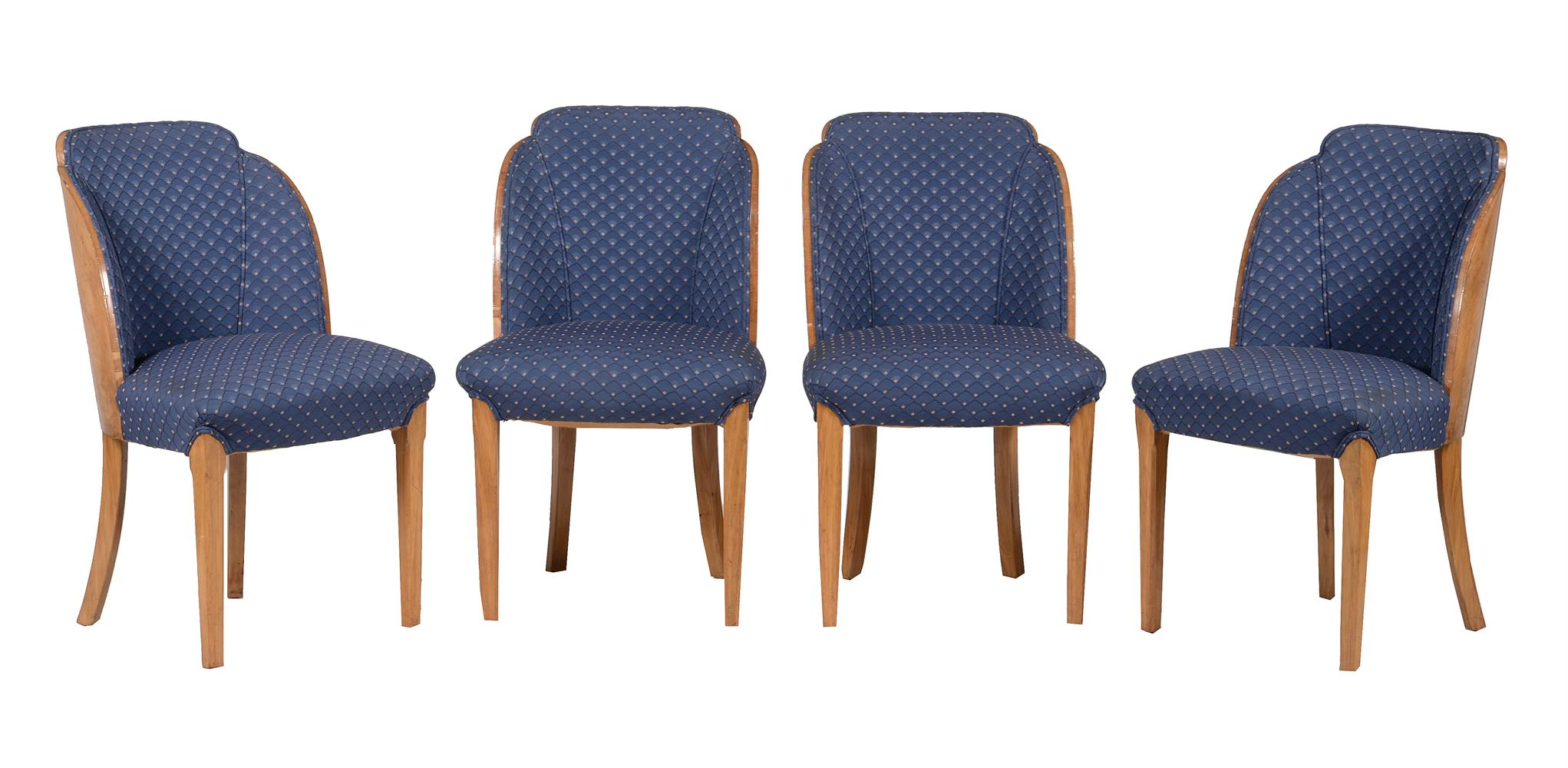 Epstein: a Cloud series walnut suite of seat furniture - Image 2 of 6