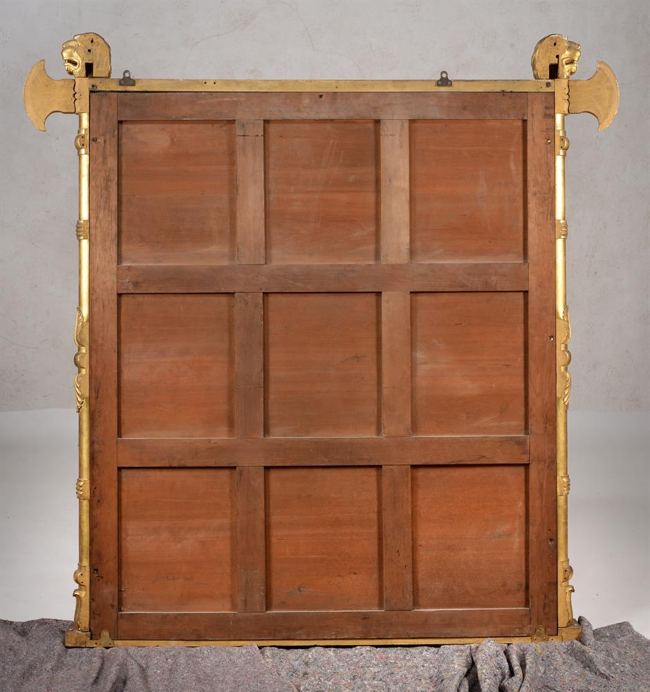 A George IV giltwood overmantel wall mirror - Image 4 of 4