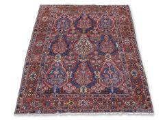 A Bahktiari carpet