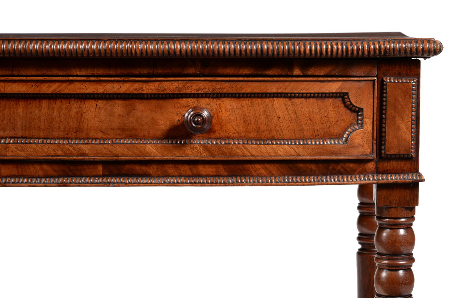 A George IV mahogany bowfront side table - Image 4 of 4