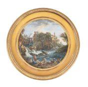 Edmé Charles de Lioux de Savignac (French fl. 1766-1772), Cascades de Tivoli