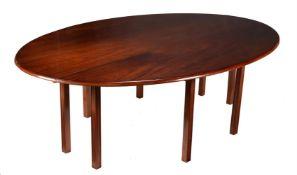 A mahogany wake table in George III Irish style