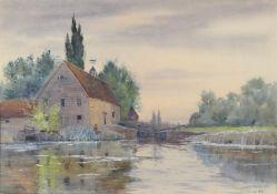 λ Robert Winchester Fraser (British 1848-1906), 'Hurley Lock'