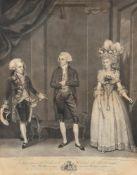 J Jones After James Roberts- a pair of theatrical prints