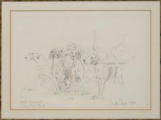 Judy Boyt (20th century), V W H Foxhounds, Charlton Park