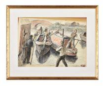 λ Evan Charlton (1904-1984) 'Canal'