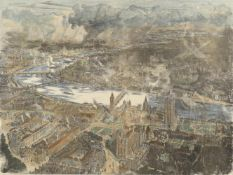 After W. L. Wyllie and H. W. Brewer, 'A Bird's Eye View of London as seen from a Balloon'