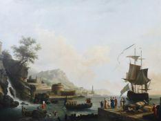 Manner of Claude Joseph Vernet (late 20th century), 'Mediterranean Port'