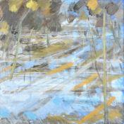 λ Richard Robbins (British 1927-2009), 'Hampstead Pond'