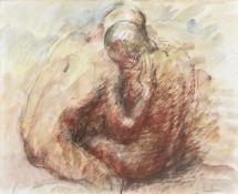 λ Richard Robbins (British 1927-2009), 'Two lovers'