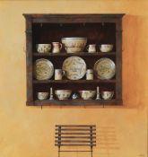 λ Ron Bone (British 1950-2011) 'Painted shelves'