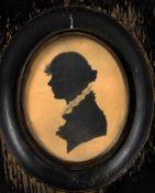 Y W J Tiffin (Salisbury mid-19th Century) a miniature portrait of a young lady
