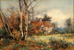 Sidney Grant Rowe (1861-1928) 'In a Surrey farm'
