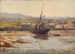 Robert Edward Morrison (British 1852-1925), 'Isle of Man coastal scene'
