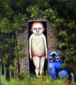 λ Heather Nevay (b.1965), 'The boy in the house in the woods'