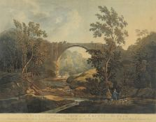 Joseph Constantine Stadler after J. Atkinson- 'A View of Tanfield Arch in the County of Durham...'