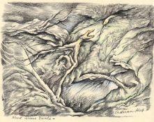 λ Adrian Keith Graham Hill (British 1897-1977), 'Surrealist Compositions'-a set of 4