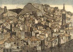 λ Valerie Thornton (British 1931-1991), 'Monterde, Spain'