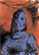 λ Richard Kenton Webb (British 20th century), 'Miss Violet Smith'