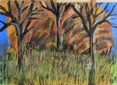 S***Wade (Australian 20th century), 'Tree study'
